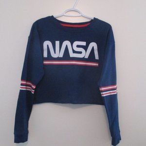 NASA Crop Sweater - M